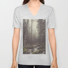The paths we wander II Unisex V-Neck