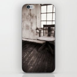 Old Chair (redux) iPhone Skin