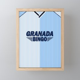 Coventry City Classic Granada Kit 87-88 Framed Mini Art Print