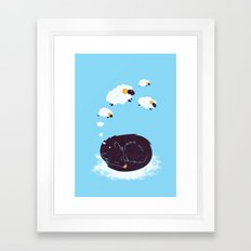sweet dream Framed Art Print