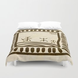 Ethnic 3 Canary Islands Duvet Cover