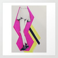 Pop Art Skirt Art Print