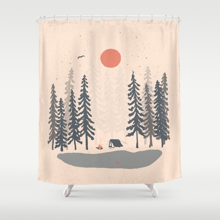 Feeling Small in the Morning... Shower Curtain