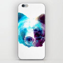 Space Bear iPhone Skin