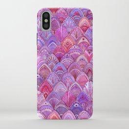 Mermaid Scales - Purple iPhone Case