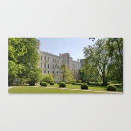 white castle Canvas Print