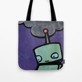 Robot - Delirious Inside Tote Bag