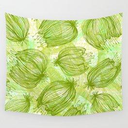 Verde que te quiero Verde Wall Tapestry
