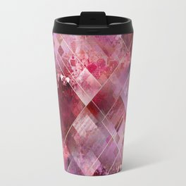 Marbleized Strawberry Travel Mug