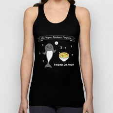 Friend or Pho? Unisex Tank Top
