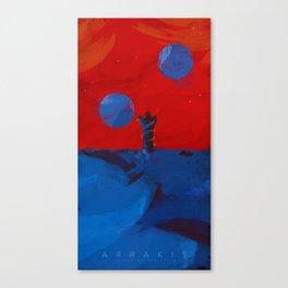 Arrakis, Source of the spice Canvas Print