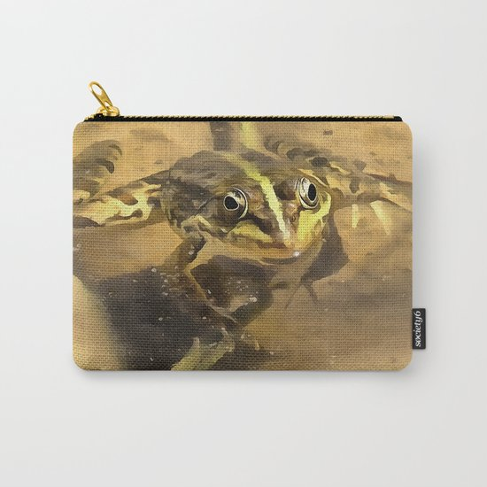 Marsh Frog Carry-All Pouch