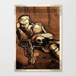 Hamlet Prince of Denmark Canvas Print