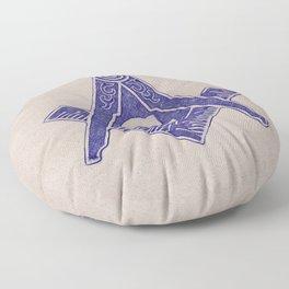 Freemason Symbol Floor Pillow