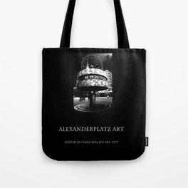 Alexanderplatz art Tote Bag