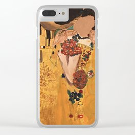The kiss of You Close Clear iPhone Case