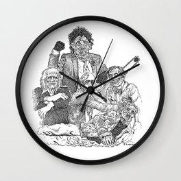 Texas Chainsaw Massacre 2 Wall Clock