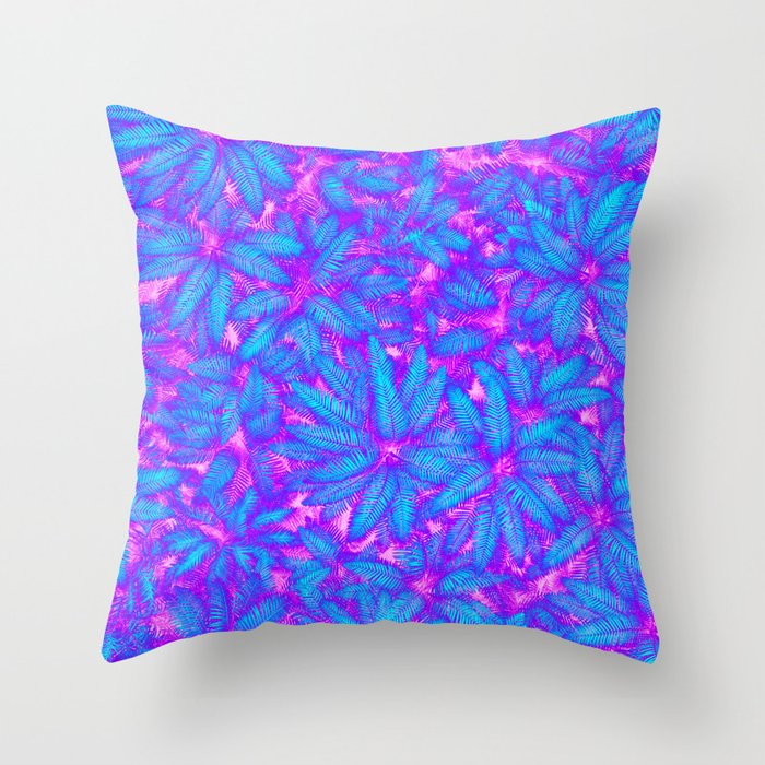 Jungle Heat Throw Pillow