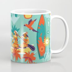 Hawaiian resort Mug