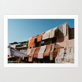 Marrakesh rugs Art Print