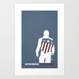 Cap'n Art Print