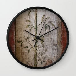 Antique wall painting Wall Clock