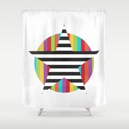 Star & Stripes Shower Curtain