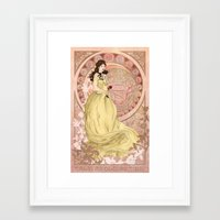 once upon a  time Framed Art Prints featuring Once Upon a Time by Morgan Inslee Groombridge
