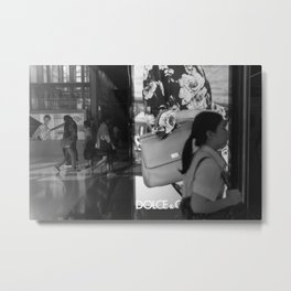 Reflection of BKK I Metal Print
