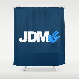 JDM shocker v1 HQvector Shower Curtain