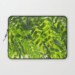 Sunny Leaves Laptop Sleeve