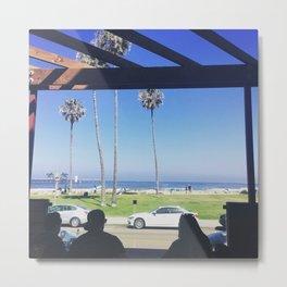 Beach Vibes Metal Print