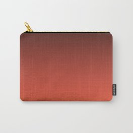 Brown orange gradient Carry-All Pouch