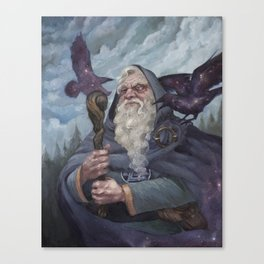 The Whispers of Ravens Canvas Print