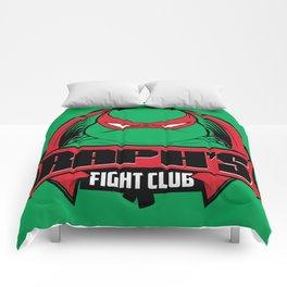 Raph's Fight Club Comforters
