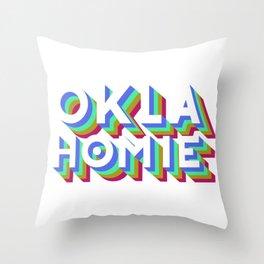 Oklahomie Throw Pillow