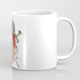 Griffin Shield - Swords - Coat of Arms Coffee Mug