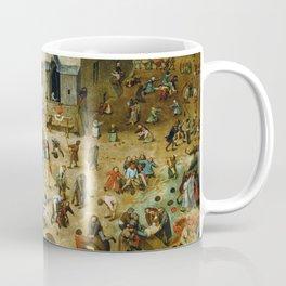 Pieter Bruegel the Elder Children's Games Coffee Mug