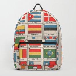 Vintage flags 1935 Backpack