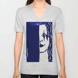 Brandon Lee Blue Unisex V-Neck