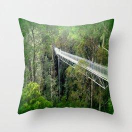Otway Fly Tree Top Walk Throw Pillow