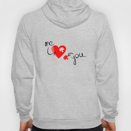 Me and You Missing Piece to my Heart Design Hoody