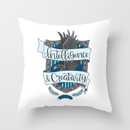 House Pride - Intelligence & Creativity Throw Pillow
