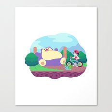 Teeny Tiny Worlds - Route 12 Canvas Print