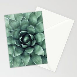Macro Succulent Stationery Cards