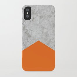 Concrete Arrow Orange #118 iPhone Case