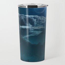 Alien Cloudscape Travel Mug