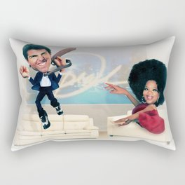 The Tom Cruise and Oprah Moment  Rectangular Pillow