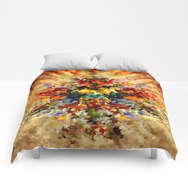 modern composition 10 by rafi talby Comforters