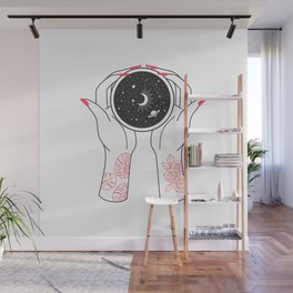 Space Coffee Wall Mural